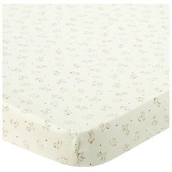 Babies R Us Knit Cradle Sheet - Safari