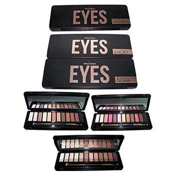 Cosmetics Profusion 12 Color Eye Shadow Palette Smokey (CosEYES Z) (Smokey)