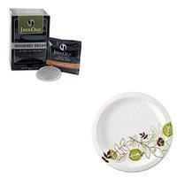 KITDXEUX9WSPKJAV30210 - Value Kit - Java Trading Co. Coffee Pods (JAV30210) and Dixie Pathways Mediumweight Paper Plates (DXEUX9WSPK)