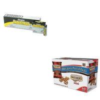 KITEVEEN91SNY827582 - Value Kit - Snyder's Mini Pretzels, Original (SNY827582) and Energizer Industrial Alkaline Batteries (EVEEN91)