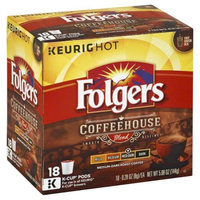 Folgers Coffeehouse Coffee Blend K-Cup Pods 18ct