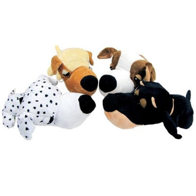 Pdq Fatheads Plush Small Dog Toy (088306F)