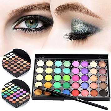 Meflying 40 Color Eyeshadow Palette Matte - Professional Makeup Powder Palette with Intense Pigment