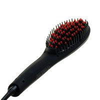 Yphone Beauty Turbo Ion Hair Straightener Brush - Black