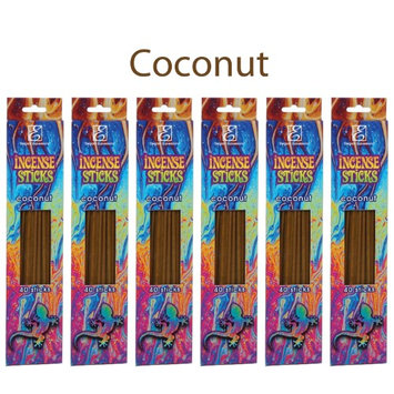 Hosley® 240 Incense Sticks / Approx. 240 gm. COCONUT Highly Fragranced Incense