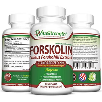 Premium Forskolin For Weight Loss 500mg Daily- Pure Forskolin Extract For Weight Loss - Coleus Forsk