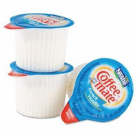 NES35170 - Liquid Coffee Creamer, French Vanilla Flavor .375 Oz. Individual Mini Cups Packed In Serving Pack