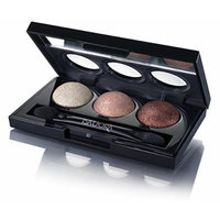 Isadora Eye Shadow Trio. Extra Long Lasting. Fragrance Free. Clinically Tested. (90 Beach Bronze)