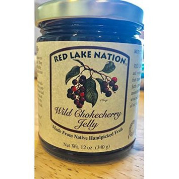 12 oz- MINNESOTA Wild Chokecherry Jelly {Native Handpicked Fruit}
