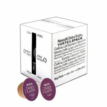 80 x Nescafé Dolce Gusto Choco Caramel, Cocoa with Caramel, Large Package, 80 Capsules (40 Servings)