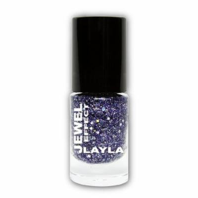 LAYLA COSMETICS Jewel Effect Nail Polish, Lapislazzuli Number 4