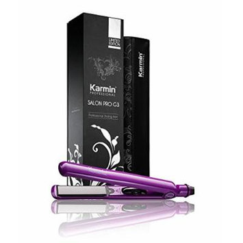Karmin G3 Salon Professional Hair Straightener (Purple)