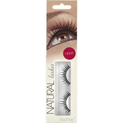 Technic Natural Lashes False Lashes With Adhesive-A36