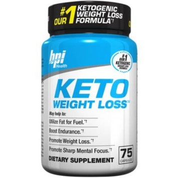 Keto Weight Loss (75 Capsules) by BPI Sports at the Vitamin Shoppe