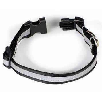 Starline Global Petflect Black/Silver Reflective AdventurePlay Collar