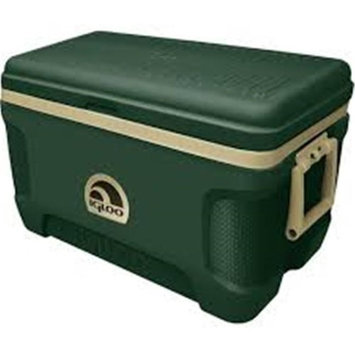 John Deere TS6006001OX52Q 52 qt Lit Cooler with Green & Yellow