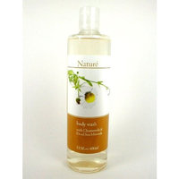 Nature Dead Sea Minerals Body Wash - Chamomile 13.5 Oz.