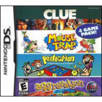 Dsi Games Nintendo Ds Clue Mouse Trap Perfection And Aggravation