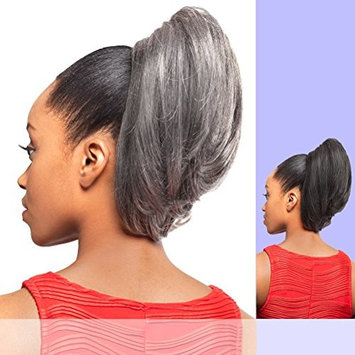 DS002 (Foxy Silver) - Synthetic Ponytail in 44