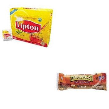 KITAVTSN42067LIP291 - Value Kit - General Mills Nature Valley Granola Bars (AVTSN42067) and Lipton Tea Bags (LIP291)