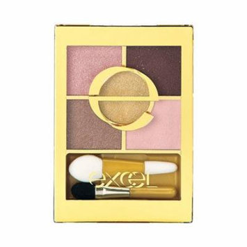 Excel Tokyo Make Up Five Layer's Eye Shadow N - Suite Pink