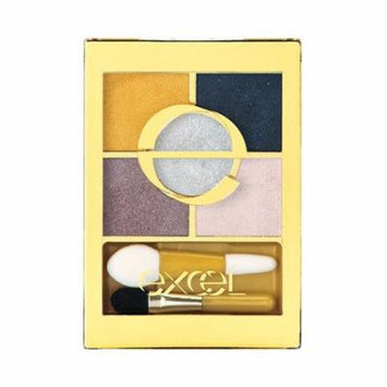 Excel Tokyo Make Up Five Layer's Eye Shadow N - Navy Gold