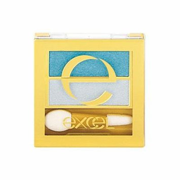 Excel Tokyo Make Up Dual Eye Shadow N - Turquoise Beach