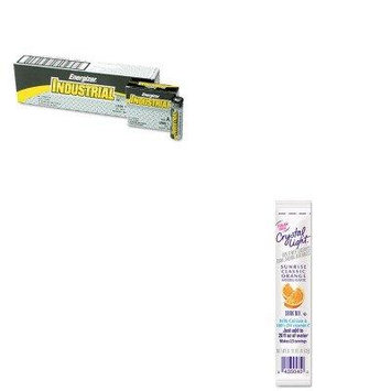 KITCRY00504EVEEN91 - Value Kit - Crystal Light On the Go (CRY00504) and Energizer Industrial Alkaline Batteries (EVEEN91)