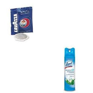 KITLAV4483RAC76938EA - Value Kit - Lavazza Gran Crema Espresso Pods (LAV4483) and Neutra Air Fresh Scent (RAC76938EA)