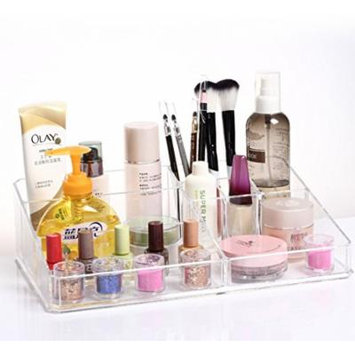 Beauty Acrylic Makeup Organizer Luxury Cosmetics Acrylic Clear Case Storage Insert Holder