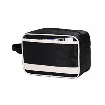 Retro Cosmetics Grooming Hanging Toiletry Organizer Case Bag Black P4621