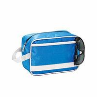 Retro Cosmetics Grooming Hanging Toiletry Organizer Case Bag Alt/blue P4621