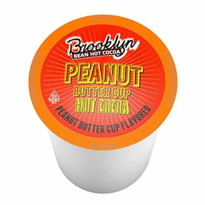 Brooklyn Bean Roastery Peanut Butter Cup Single-Cup Hot Cocoa for Keurig K Cup Brewers, 40 Count