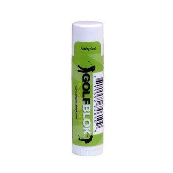 Golf Blok SPF 15 Moisturizing Lipbalm - 1 Tube - Wind & Sun Screen Lip Protection & Treatment - Lip Balm for Chapped Lips