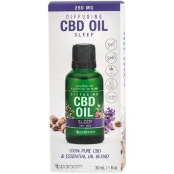 Diffusing CBD Oil - Sleep (1 Fluid Ounces Liquid) by SpaRoom at the Vitamin Shoppe