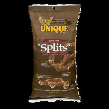 Unique Pretzels Unique Original Pretzel Splits, 11 oz