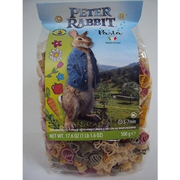 Peter Rabbit Pasta, Official Movie Merchandise, 17.6oz / 500g