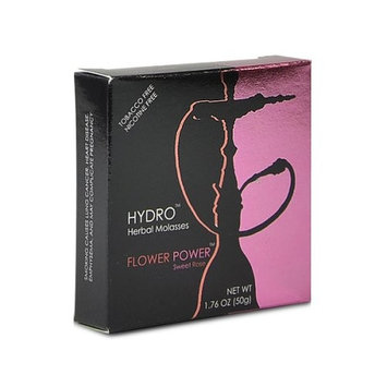Hydro Herbal 50g Premium Hookah Shisha Molasses - Flower Power Sweet Rose