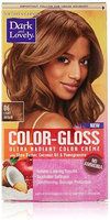 Dark and Lovely Color-Gloss Ultra Radiant Color Creme, Light Brown 1.0 ea(pack of 4)