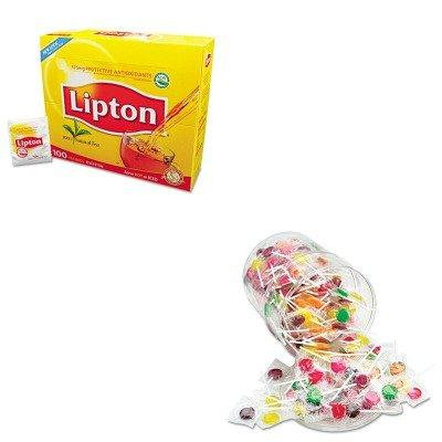 KITLIP291OFX00068 - Value Kit - Office Snax Sugar-Free Suckers (OFX00068) and Lipton Tea Bags (LIP291)