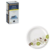 KITBTC10396DXEUX9WSPK - Value Kit - Bigelow Single Flavor Tea (BTC10396) and Dixie Pathways Mediumweight Paper Plates (DXEUX9WSPK)