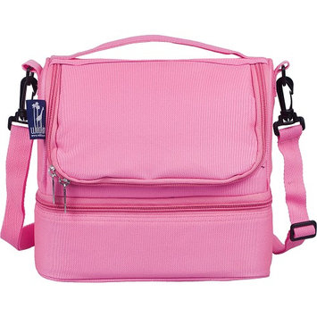 Wildkin Double Decker Lunch Bag Flamingo Pink - Wildkin Travel Coolers