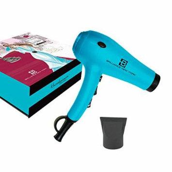Brilliance New York - ProDryer 3400 Professional Hair Dryer, 1875 Watt Ultra Powerful, Lightweight Motor, Turquoise
