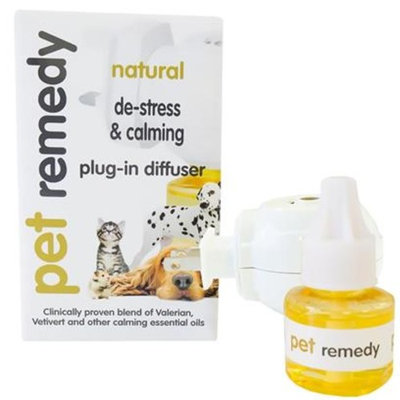 Pet Remedy Calming Plug-in Diffuser and Refill [Options : Pet Remedy Calming Plug-in Diffuser and Refill]