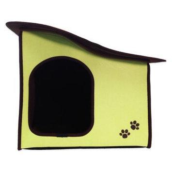 Penn Plax Zipper Sloped Roof Dog House