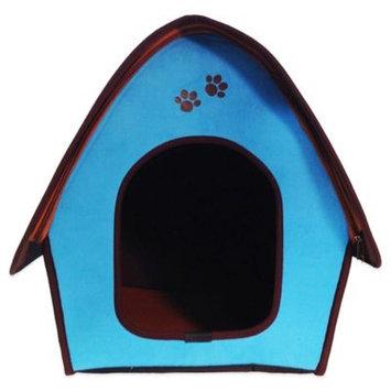Penn Plax Zipper Curved Roof Dog House