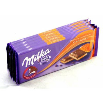 Kraft Foods: Milka Strong Chocolate Caramel - 5 x 100 g