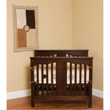 Pam Grace Creations PCCAPPUCCINO Portable Crib Bedding 3 Piece Cappucinno