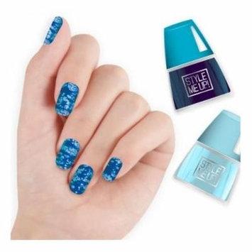 Top Spot Nail Art - Blue - Craft Kit by Aquastone Group (1684)