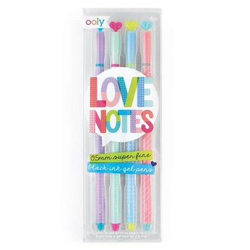 OOLY 132-087 Love Notes Gel Pens Set of 4 - Pack of 12